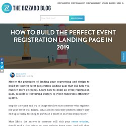 How to Build the Perfect Event Registration Landing Page in 2019