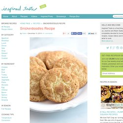 Perfect Snickerdoodles Recipe with Chewy Middles
