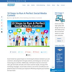 10 Steps to Run a Perfect Social Media Contest