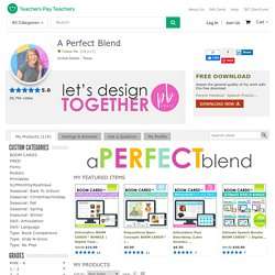 A Perfect Blend Teaching Resources