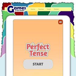Perfect Tense Game