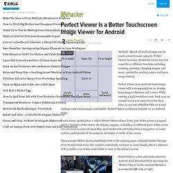Perfect Viewer Is a Better Touchscreen Image Viewer for Android