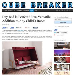 Day Bed is Perfect Ultra-Versatile Addition to Any Child's Room - Cube Breaker