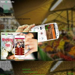 Perfect Wedding planner App By Appsmarche