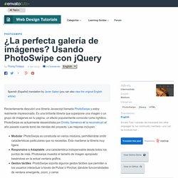 ¿La perfecta galería de imágenes? Usando PhotoSwipe con jQuery - Envato Tuts+ Web Design Tutorial
