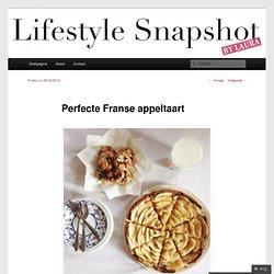 Perfecte Franse appeltaart