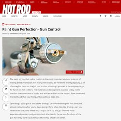 Paint Gun Perfection- Rod & Custom Magazine