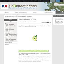 Perfectionnement à QGIS - GéoInformations - Espace interministériel de l'information géographique