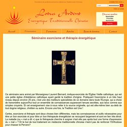 Lotus Ardent - perfectionnement en Médecine Traditionnelle Chinoise - Jean-christian Raoux