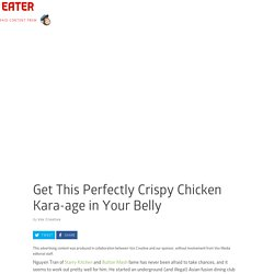 Get This Perfectly Crispy Chicken Kara-age in Your Belly