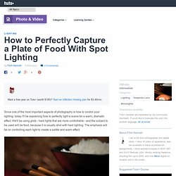 How to Perfectly Capture a Plate of Food With Spot Lighting
