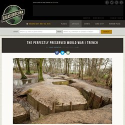 The Perfectly Preserved World War I Trench