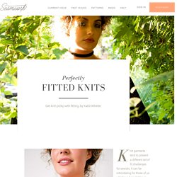 Perfectly Fitted Knits