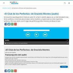 «El Club de los Perfectos» de Graciela Montes (audio)