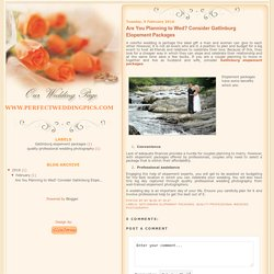 Avail Gatlinburg Elopement Packages at an Affordable Rate