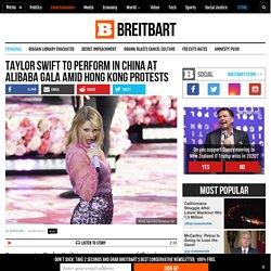 Taylor Swift to Perform in China at Alibaba Gala amid Hong Kong Protests