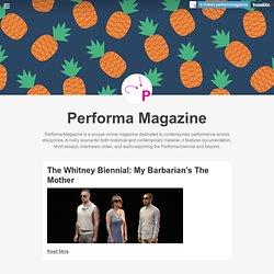 Performa Magazine