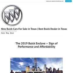 2019 Buick Enclave Trims