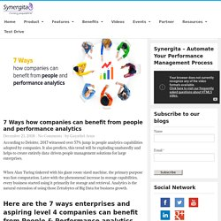 7 benefits of people and performance analytics