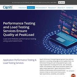 Application Performance Testing