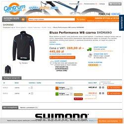 Bluza Performance WB czarna SHIMANO - CentrumRowerowe.pl