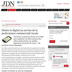 Mettre le digital au service de la performance commerciale locale