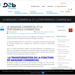 Definition de performance commerciale
