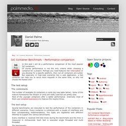 IoC Container Benchmark - Performance comparison - www.palmmedia.de