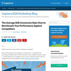 The Average B2B Conversion Rate: How to Benchmark Your Performance Against Competitors