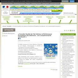 «Concilier Qualité de l'Air Intérieur et Performance Énergétique des bâtiments: une complémentarité nécessaire». - DREAL Occitanie - 08/12/16