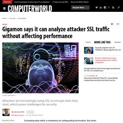 Gigamon says it can analyze attacker SSL traffic without affecting performance