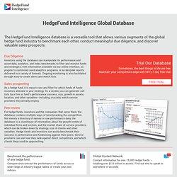 Hedge fund news, hedge fund performance data, hedge fund research, hedge fund events, hedge fund conferences, hedge fund awards