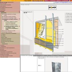 """Estimée m² de Système de façade ventilée F4 """"ISOVER"""" à haute performance énergétique, à revêtir. Générateur de prix de la construction. CYPE Ingenieros, S.A."""