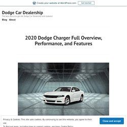 2020 Dodge Charger Full Overview