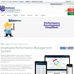 Employee Performance Management System and Development Solutions