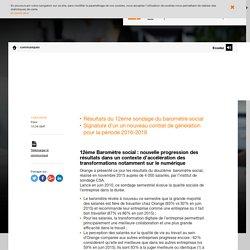Orange poursuit son action pour concilier performance économique et qualité sociale