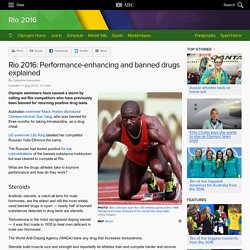 Rio 2016: Performance-enhancing and banned drugs explained - Sport