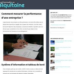 Comment mesurer la performance d'une entreprise ?