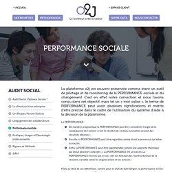 Mesurer la performance sociale de l'entreprise - Outil de monitoring et pilotage o2j