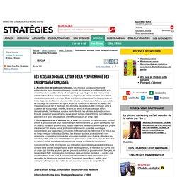 Les réseaux sociaux, levier de la performance des entreprises françaises - page 2