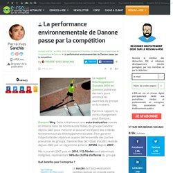 La performance environnementale de Danone passe par la compétition