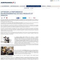 Optimiser la performance environnementale de nos produits et services