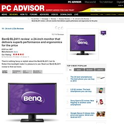 BenQ BL2411 review: a 24-inch monitor that delivers superb performance and ergonomics for the price