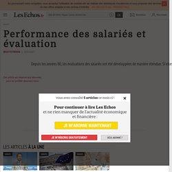 Performance des salariés et évaluation - Les Echos