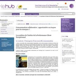 La synthèse de l'Atelier de la Performance Client Exceptionnel