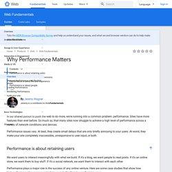 Optimizing Performance — Web Fundamentals