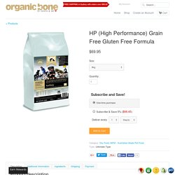 HP (High Performance) Grain Free Gluten Free Formula