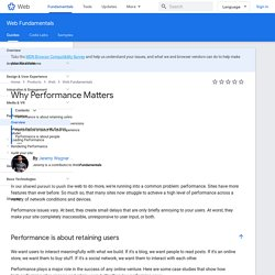 Optimizing Performance — Web Fundamentals