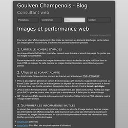 Images et performance web - Userland