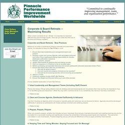 Pinnacle Performance Improvement Worldwide